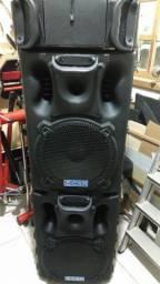 Vendo 2 Caixas de som CRS-3000 Ativa e Passiva-R$ 1100,00