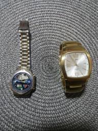 Relógios masculinos ( usados e conservados )