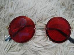 Óculos de Sol Vermelho Modinha