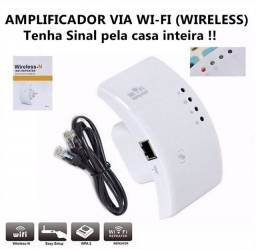Repetidor Amplificador Melhora Sinal Wifi 300mbps