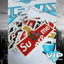 Kit De Adesivos Supreme Sticker | 50 Peças | Frete Barato