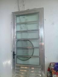 Porta de inox