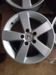 Rodas originais Honda Civic aro 16