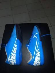 Chuteira Nike mercurial infantil para futebol socyte tamanho 35