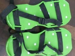 Sapato para aplicação de porcelanato líquido