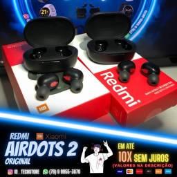 Fone Bluetooth Redmi Airdots 2. Produto 100% Original.