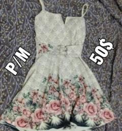Venda/troca vestido boneca florido