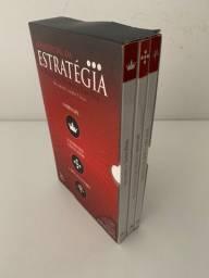 Box de livros - Estratégia (detalhe na descrição)