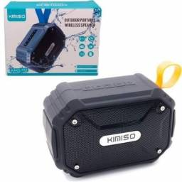 Caixa de Som Bluetooth Portátil Kimiso KMS-112