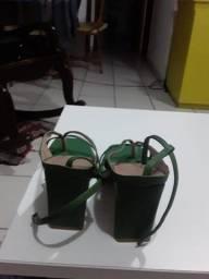 Sandália Moderna Verde