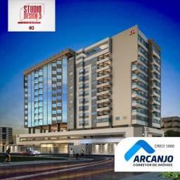 (Lançamento) Apartamento no EDF. Studio Design III - Lions, 40m², No Melhor da Ponta Verde