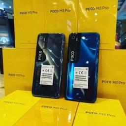 Xiaomi Poco m3 pró 128gb 6ram com suporte 5g + brindes de garantia de um ano