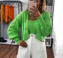 Cojunto tricot modal