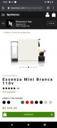 Cafeteira Nespresso nova com garantia de fabrica