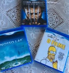 3 DVDs Bluray