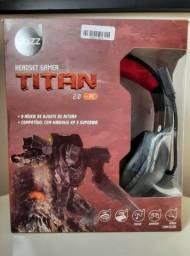Vendo Headset Gamer Titan 2.0 USB Dazz