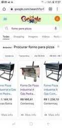 Forno para pizza e gratinados semi novo