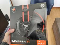 Headset Cougar Immersa II Gaming