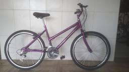 Bicicleta aro 26 nova aero violeta