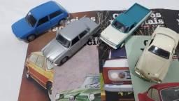 Coleção carros clássicos nacionais