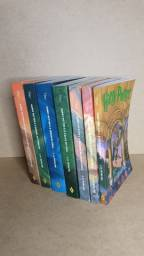 7 livros da Saga Harry Potter