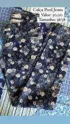 Roupas novas e seminovas (vestidos, conjuntos, calças e short).