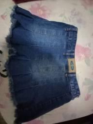 Saia jeans n.36 vicunha. Marca Repare