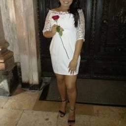 Vestido branco novo