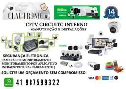 Câmera de Monitoramento e Cerca Elétrica