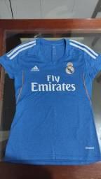 Camisa real madrid fly emirates adidas tamanho P.