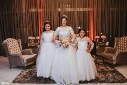 Vende lote de vestido de noiva, madrinha e damas!!!