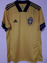Camisa Suécia adidas tamanho M