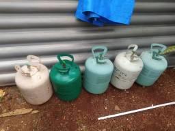 Recipiente de gás vazio 15,00 cada