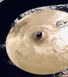 Pratos Diril Cymbals B20 e 1 Bag Luxo Zildjian - Apenas VENDA (Valor na descrição)