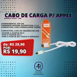 Cabo de Carregador para Apple