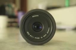 Lente Canon 40mm f/2.8 *pra desapegar rápido!*