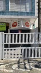 Aluga-se loja comercial próxima à praia e ao Orquidário em Santos