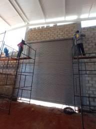 Porta de Aço Galvonizado automática