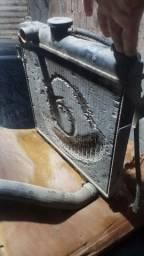 Radiador chevette + reservatório