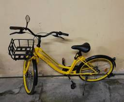 Bicicleta nova Aro 26., Pneu maciço.