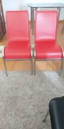 2 cadeiras para mesa de jantar