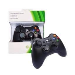 Controle Xbox Com fio Novo Lacrado