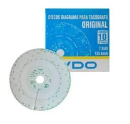 Discos Diagrama P/ Tacógrafo Vdo 7 Dias 125km Semanal