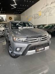 Toyota Hilux 2.8 SRX 2017 BLINDADA IPVA 21 PAGO