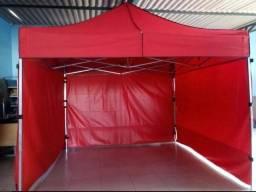 Lonas, tendas e tripé