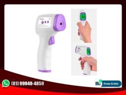 Termômetro Sensor Infravermelho Digital de Testa Medição de Temperatura