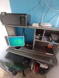 PC COMPLETO E IMPRESSORA HP R$ 600,00