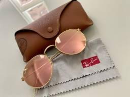 Óculos de Sol RayBan Round Rosé