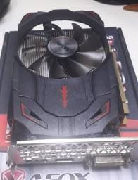 Placa de vídeo RX 550 4gb Afox