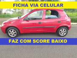 Financiamento com score baixo Gm Celta financio para autônomo